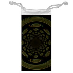 Dark Portal Fractal Esque Background Jewelry Bag