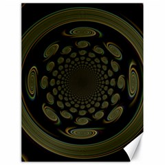 Dark Portal Fractal Esque Background Canvas 18  X 24