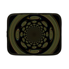 Dark Portal Fractal Esque Background Netbook Case (Small)