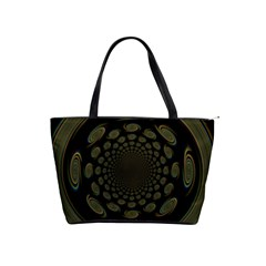 Dark Portal Fractal Esque Background Shoulder Handbags