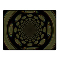 Dark Portal Fractal Esque Background Fleece Blanket (Small)