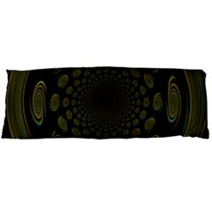 Dark Portal Fractal Esque Background Body Pillow Case (dakimakura)