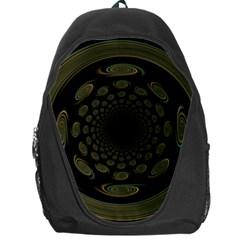 Dark Portal Fractal Esque Background Backpack Bag
