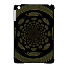 Dark Portal Fractal Esque Background Apple Ipad Mini Hardshell Case (compatible With Smart Cover)
