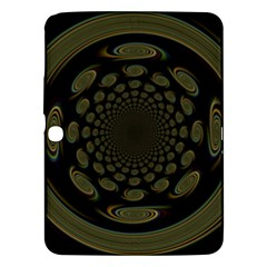 Dark Portal Fractal Esque Background Samsung Galaxy Tab 3 (10.1 ) P5200 Hardshell Case