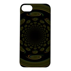 Dark Portal Fractal Esque Background Apple Iphone 5s/ Se Hardshell Case