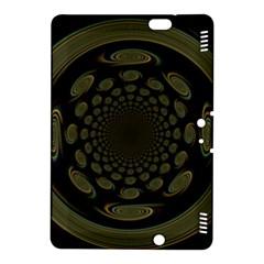 Dark Portal Fractal Esque Background Kindle Fire Hdx 8 9  Hardshell Case