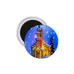 Winter Church 1.75  Magnets