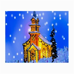 Winter Church Small Glasses Cloth