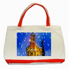 Winter Church Classic Tote Bag (Red)