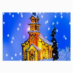 Winter Church Large Glasses Cloth (2 Side)