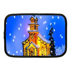 Winter Church Netbook Case (medium)
