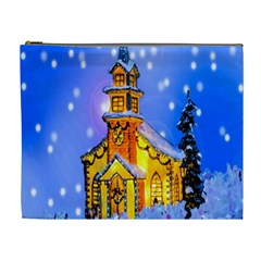 Winter Church Cosmetic Bag (XL)