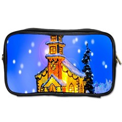 Winter Church Toiletries Bags 2 Side