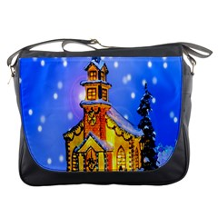 Winter Church Messenger Bags