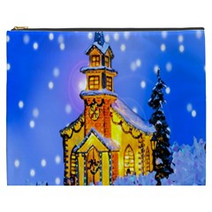 Winter Church Cosmetic Bag (xxxl)