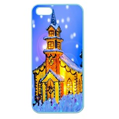 Winter Church Apple Seamless Iphone 5 Case (color)