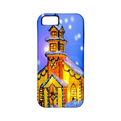 Winter Church Apple iPhone 5 Classic Hardshell Case (PC+Silicone)