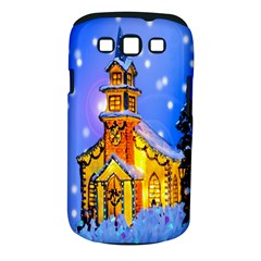 Winter Church Samsung Galaxy S III Classic Hardshell Case (PC+Silicone)