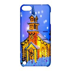 Winter Church Apple iPod Touch 5 Hardshell Case with Stand