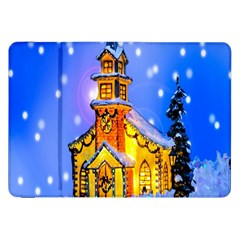 Winter Church Samsung Galaxy Tab 8.9  P7300 Flip Case