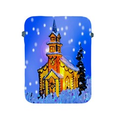 Winter Church Apple Ipad 2/3/4 Protective Soft Cases