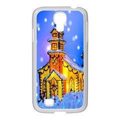 Winter Church Samsung Galaxy S4 I9500/ I9505 Case (white)