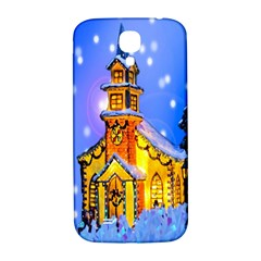 Winter Church Samsung Galaxy S4 I9500/I9505  Hardshell Back Case