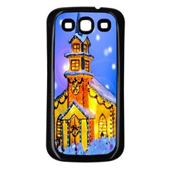 Winter Church Samsung Galaxy S3 Back Case (black)