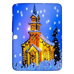 Winter Church Samsung Galaxy Tab 3 (10 1 ) P5200 Hardshell Case