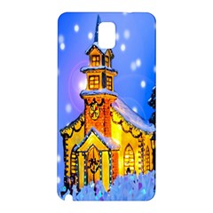 Winter Church Samsung Galaxy Note 3 N9005 Hardshell Back Case