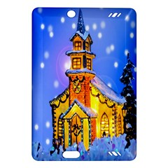 Winter Church Amazon Kindle Fire Hd (2013) Hardshell Case