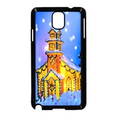 Winter Church Samsung Galaxy Note 3 Neo Hardshell Case (black)