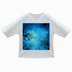 Blue Night Portrait Background Infant/toddler T Shirts
