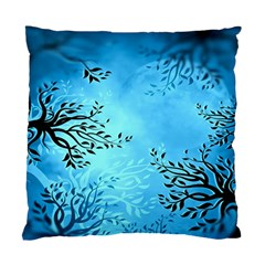 Blue Night Portrait Background Standard Cushion Case (One Side)