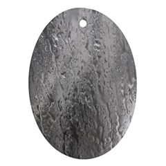 Water Drops Ornament (Oval)