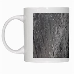 Water Drops White Mugs