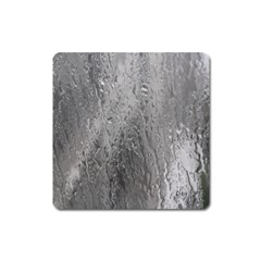 Water Drops Square Magnet