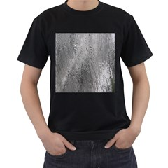 Water Drops Men s T Shirt (black) (two Sided)