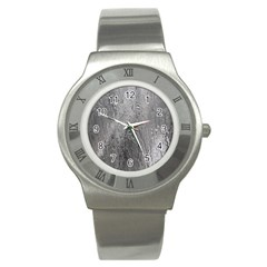 Water Drops Stainless Steel Watch