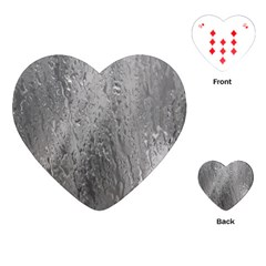 Water Drops Playing Cards (heart)