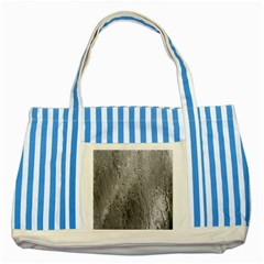Water Drops Striped Blue Tote Bag