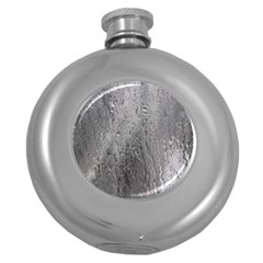 Water Drops Round Hip Flask (5 oz)