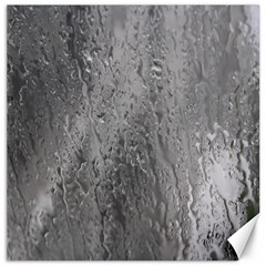 Water Drops Canvas 20  X 20