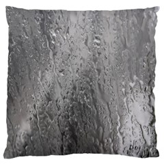 Water Drops Large Cushion Case (Two Sides)