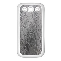 Water Drops Samsung Galaxy S3 Back Case (White)