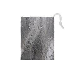 Water Drops Drawstring Pouches (small)