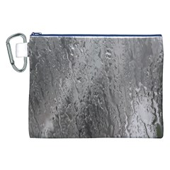 Water Drops Canvas Cosmetic Bag (xxl)