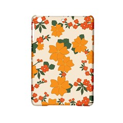 Vintage Floral Wallpaper Background In Shades Of Orange iPad Mini 2 Hardshell Cases