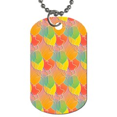 Birthday Balloons Dog Tag (One Side)